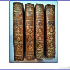 Libros antiguos: AÑO 1774: OBRAS DE BILLOT. 4 TOMOS DEL SIGLO XVIII.. Lote 155311066