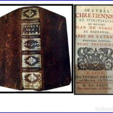 Libros antiguos: AÑO 1679: PRECIOSO LIBRO DEL SIGLO XVII. ELEGANTE Y MUY BIEN CONSERVADO.. Lote 155346494