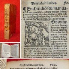 Libros antiguos: AÑO 1535 - GOTICO ESPAÑOL POST-INCUNABLE EDITADO EN SEVILLA - SAN FRANCISCO DE ASIS -FRAILES MENORES. Lote 155543578
