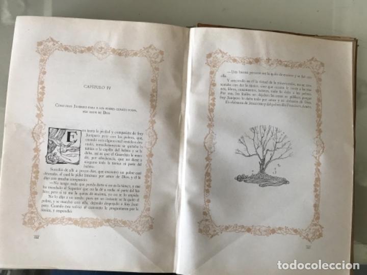 Libros antiguos: Florecillas del glorioso San Francisco de Asís Edición Centenario 1226-1926 - Foto 7 - 155616206