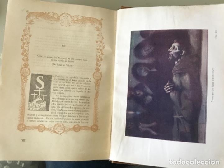 Libros antiguos: Florecillas del glorioso San Francisco de Asís Edición Centenario 1226-1926 - Foto 8 - 155616206