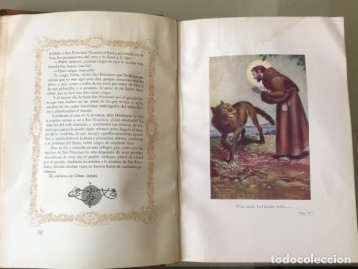 Libros antiguos: Florecillas del glorioso San Francisco de Asís Edición Centenario 1226-1926 - Foto 9 - 155616206