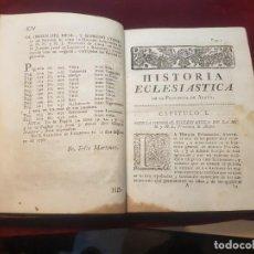 Libros antiguos: LIBRO HISTORIA ECLESIÁSTICA DE ÁLAVA PAÍS VASCO UNIÓN CON CALAHORRA IMPRESO EN PAMPLONA 1797. Lote 155685770