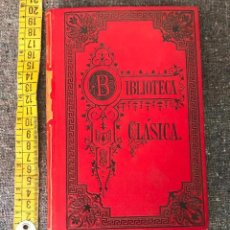 Libros antiguos: LIBRO 1891 LAS GUERRAS DE LOS JUDIOS TOMO 2 POR FLAVIO JOSEFO. Lote 156299554