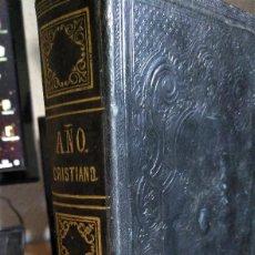 Libros antiguos: NOVÍSIMO AÑO CRISTIANO, OCTUBRE, CROISSET, 1862. Lote 156593118