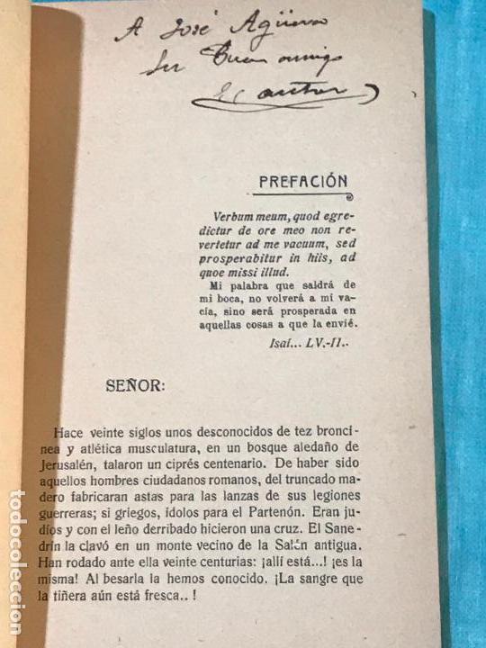 Libros antiguos: LAS SIETE PALABRAS DE NUESTRO SEÑOR JESUCRISTO 1919 CAPILLA REAL ALFONSO XIII DEAN CATEDRAL MURCIA - Foto 3 - 156839742