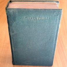 Libros antiguos: LIBRO SANTA BIBLIA - ANTIGUO NUEVO TESTAMENTO (MADRID, 1923) CIPRIANO DE VALERA BLIBLIA PROTESTANTE. Lote 221806842