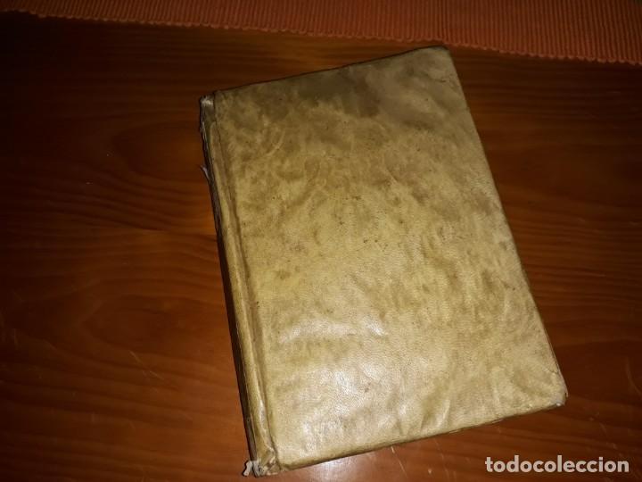 EXERCICIO DE PERFECCION,Y VIRTUDES CRISTIANAS ENCUADERNADO EN PERGAMINO 1759*** 2 LIBROS (Libros Antiguos, Raros y Curiosos - Religión)