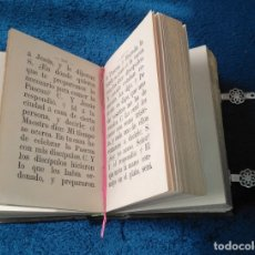 Libros antiguos: LA ESTRELLA DIVINA. DEVOCIONARIO. PIEL, CANTO DORADO, HERRAJES. EDT. MIGUEL REDONDO UBEDA 1894. Lote 157376946