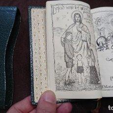 Libros antiguos: LIBRO MISAL MISALITO REGINA - LUÍS RIBERA AÑO 1965 - CON CANTOS DORADOS. Lote 158356414