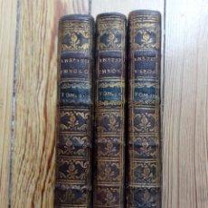 Libros antiguos: AD TIRONES INSTITUTIONES THEOLOGICAE DE JOANNE OPSTRAET 3 TOMOS 1723. Lote 158544534