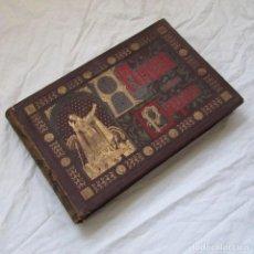 Alte Bücher - Álbum de los Papas, 1885. Retratos y Resumen histórico. Ed. La Aurora - 158565554