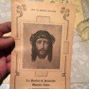 Libros antiguos: ANTIGUO LIBRO LA PASIÓN DE JESUCRISTO NUESTRO SEÑOR POR P. DIDON AÑO 1907. Lote 159448218