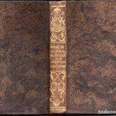 Libros antiguos: WISEMAN : VIDA DE SANTA CATALINA DE GÉNOVA Y DE SAN FRANCISCO DE GERÓNIMO (LIB. RELIGIOSA, 1852). Lote 159684286