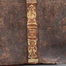 Libros antiguos: TEODORO DE ALMEYDA : TESORO DE PROTECCIÓN DE LA SANTÍSIMA VIRGEN (H. V. PLA, 1850). Lote 159684982
