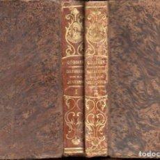 Libros antiguos: GOBINET : INSTRUCCIÓN DE LA JUVENTUD EN LA PIEDAD CRISTIANA (LIB, RELIGIOSA, 1851) DOS TOMOS. Lote 159687054