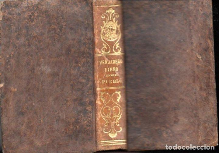 M. DE BEAUMONT : VERDADERO LIBRO DEL PUEBLO (LIB. RELIGIOSA, 1852) (Libros Antiguos, Raros y Curiosos - Religión)