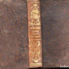 Libros antiguos: M. DE BEAUMONT : VERDADERO LIBRO DEL PUEBLO (LIB. RELIGIOSA, 1852) . Lote 159688242