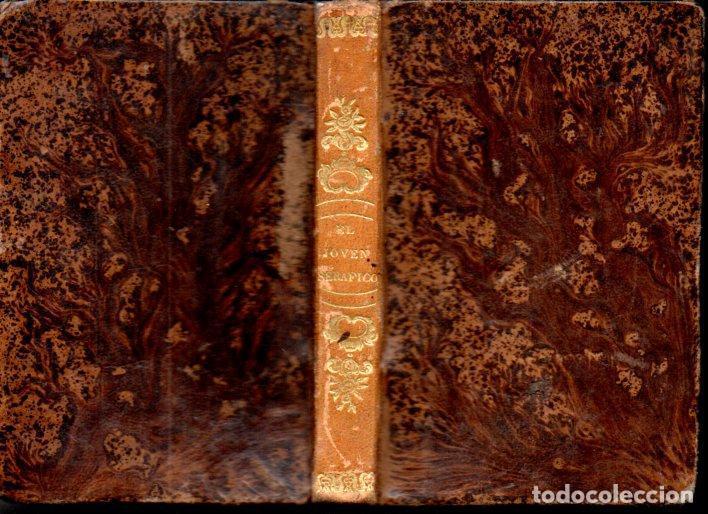 JOSÉ ARESO : EL JOVEN SERÁFICO (PABLO RIERA, 1846) OLITE, NAVARRA (Libros Antiguos, Raros y Curiosos - Religión)