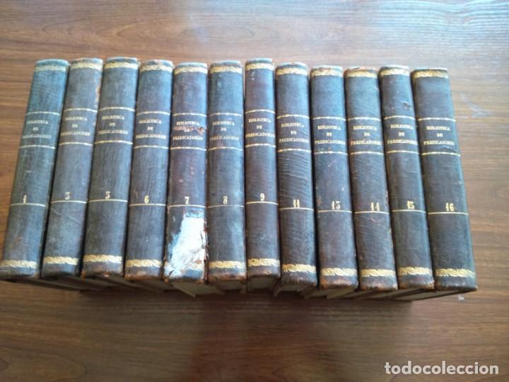 Libros antiguos: BIBLIOTECA DE PREDICADORES O SERMONARIO ESCOGIDO POR VICENTE CANOS - PARIS 1846 -- 12 TOMOS -- - Foto 2 - 159748646
