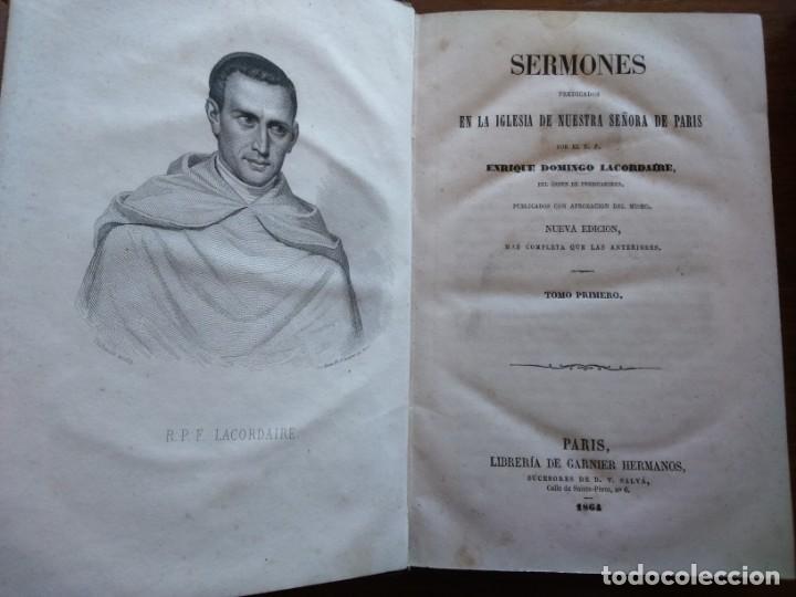 Libros antiguos: BIBLIOTECA DE PREDICADORES O SERMONARIO ESCOGIDO POR VICENTE CANOS - PARIS 1846 -- 12 TOMOS -- - Foto 9 - 159748646