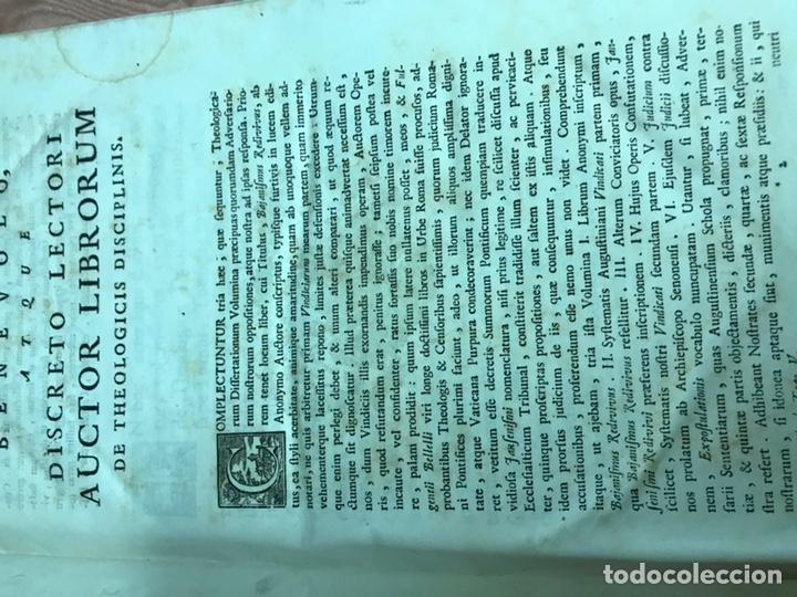 Libros antiguos: 3 TOMOS DE GRAN TAMAÑO 1765 BERTI FLORENTINI - Foto 5 - 159839658