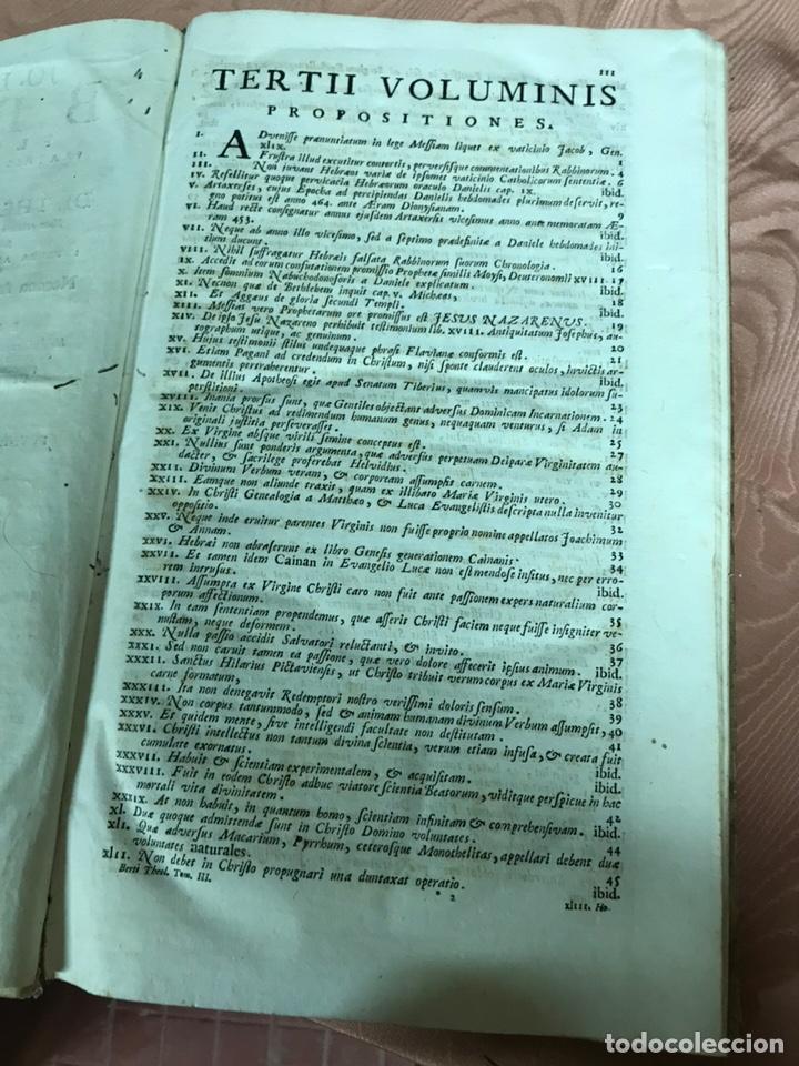 Libros antiguos: 3 TOMOS DE GRAN TAMAÑO 1765 BERTI FLORENTINI - Foto 6 - 159839658