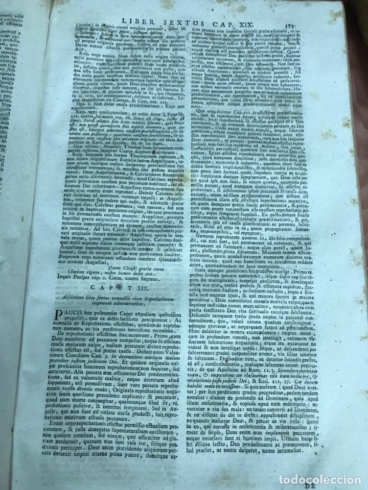 Libros antiguos: 3 TOMOS DE GRAN TAMAÑO 1765 BERTI FLORENTINI - Foto 8 - 159839658
