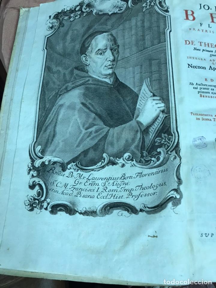 Libros antiguos: 3 TOMOS DE GRAN TAMAÑO 1765 BERTI FLORENTINI - Foto 10 - 159839658