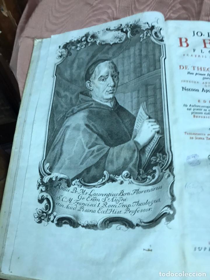 Libros antiguos: 3 TOMOS DE GRAN TAMAÑO 1765 BERTI FLORENTINI - Foto 12 - 159839658