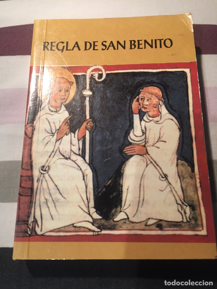 REGLA DE SAN BENITO (Libros Antiguos, Raros y Curiosos - Religión)