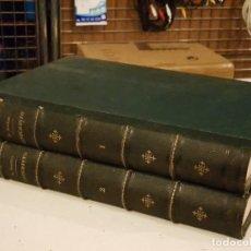 Libros antiguos: JESUCRISTO 2 TOMOS - M. LOUIS VEUILLOT - VIUDA DE RIDRIGUEZ 1881 MADRID MEXICO . Lote 160005698