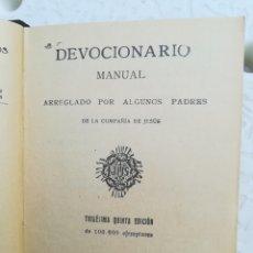Libros antiguos: DEVOCIÓN ARIO MANUAL POR EL APOSTOLADO DE PRENSA MADRID, 1935. Lote 160162104