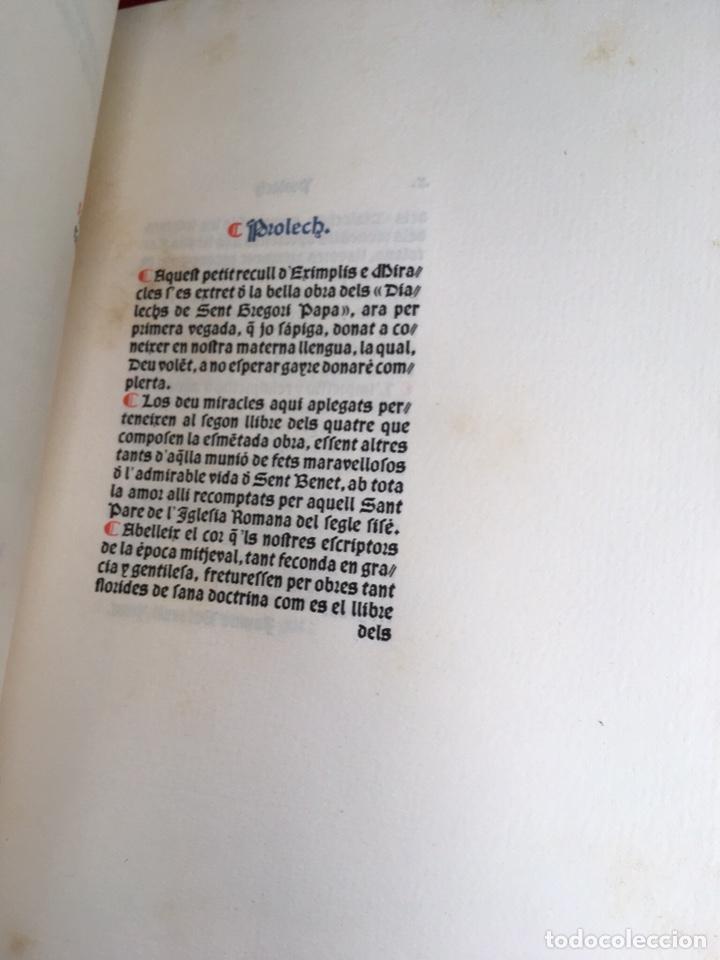 Libros antiguos: Eximplis e miracles Sent Benet - Impresor Oliva - 1910 - Foto 2 - 160214813