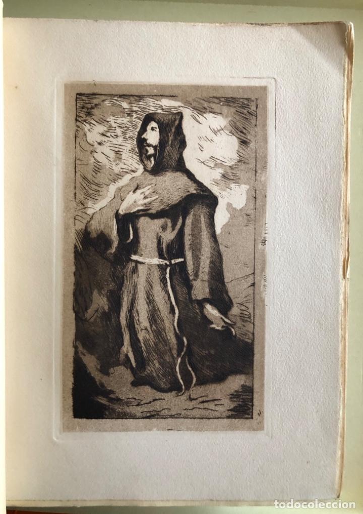 Libros antiguos: SAN FRANCISCO DE ASIS- LUIS DE SARASOLA- EDICION DE LUJO- AGUAFUERTES- MADRID 1.929 - Foto 2 - 160262010
