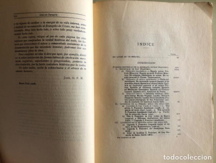 Libros antiguos: SAN FRANCISCO DE ASIS- LUIS DE SARASOLA- EDICION DE LUJO- AGUAFUERTES- MADRID 1.929 - Foto 3 - 160262010