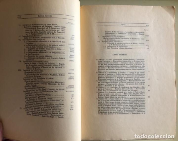 Libros antiguos: SAN FRANCISCO DE ASIS- LUIS DE SARASOLA- EDICION DE LUJO- AGUAFUERTES- MADRID 1.929 - Foto 4 - 160262010