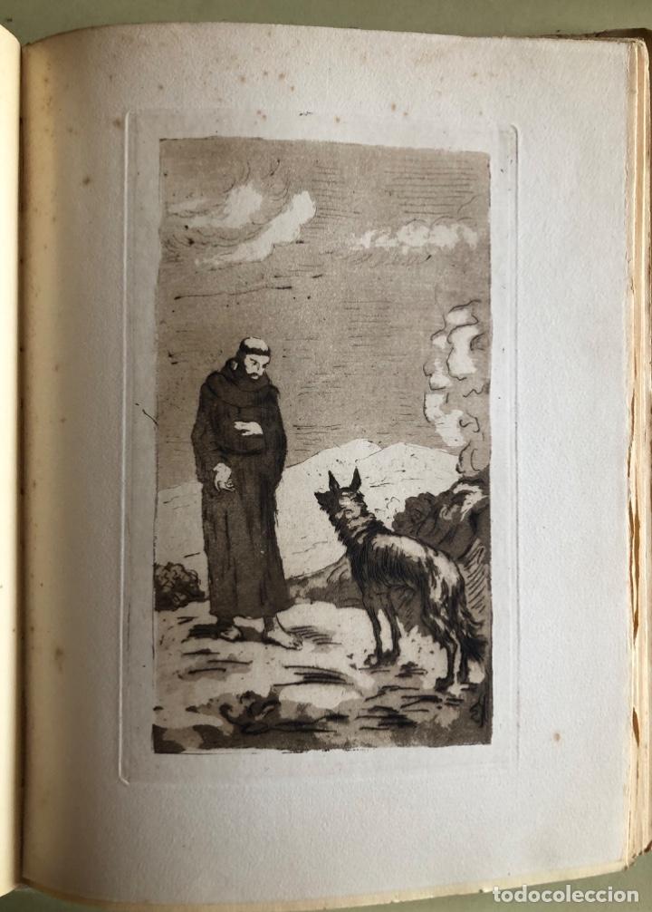Libros antiguos: SAN FRANCISCO DE ASIS- LUIS DE SARASOLA- EDICION DE LUJO- AGUAFUERTES- MADRID 1.929 - Foto 5 - 160262010