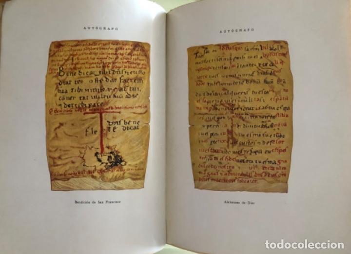 Libros antiguos: SAN FRANCISCO DE ASIS- LUIS DE SARASOLA- EDICION DE LUJO- AGUAFUERTES- MADRID 1.929 - Foto 7 - 160262010