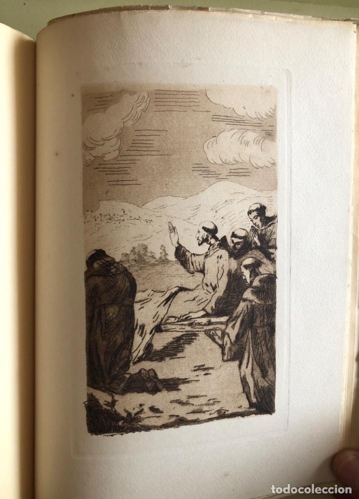 Libros antiguos: SAN FRANCISCO DE ASIS- LUIS DE SARASOLA- EDICION DE LUJO- AGUAFUERTES- MADRID 1.929 - Foto 8 - 160262010