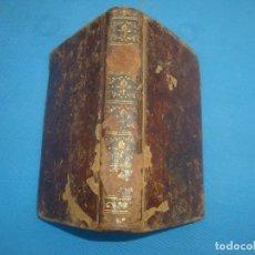 Libros antiguos: OFICIO DE LA SEMANA SANTA EDITADO EN MADRID EN 1784. Lote 160291646