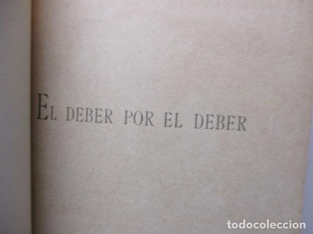 Libros antiguos: RAQUEL - EL DEBER POR EL DEBER - 1902 / DIFICIL - Foto 5 - 160478694