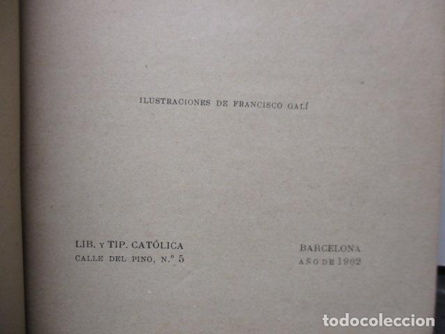 Libros antiguos: RAQUEL - EL DEBER POR EL DEBER - 1902 / DIFICIL - Foto 7 - 160478694