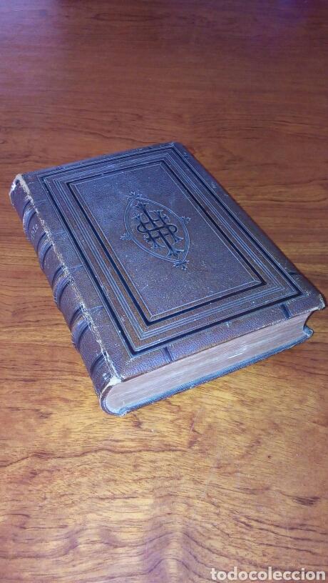 HOLY BIBLE *ANTIGUA BIBLIA* BONITA ENCUADERNACION *ANTIGUO Y NUEVO TESTAMENTO* S. XIX ? (Libros Antiguos, Raros y Curiosos - Religión)