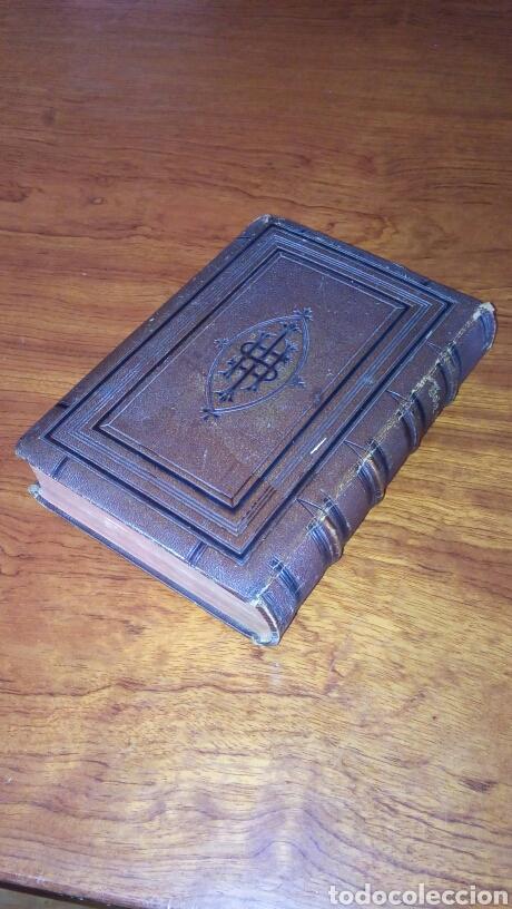 Libros antiguos: HOLY BIBLE *ANTIGUA BIBLIA* BONITA ENCUADERNACION *ANTIGUO Y NUEVO TESTAMENTO* S. XIX ? - Foto 2 - 160670689