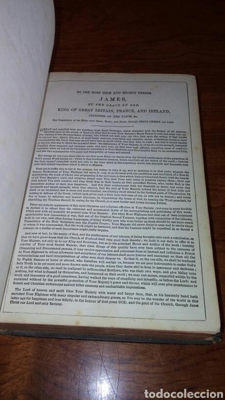 Libros antiguos: HOLY BIBLE *ANTIGUA BIBLIA* BONITA ENCUADERNACION *ANTIGUO Y NUEVO TESTAMENTO* S. XIX ? - Foto 5 - 160670689