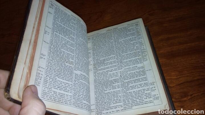 Libros antiguos: HOLY BIBLE *ANTIGUA BIBLIA* BONITA ENCUADERNACION *ANTIGUO Y NUEVO TESTAMENTO* S. XIX ? - Foto 6 - 160670689