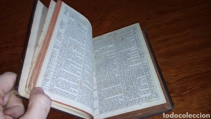 Libros antiguos: HOLY BIBLE *ANTIGUA BIBLIA* BONITA ENCUADERNACION *ANTIGUO Y NUEVO TESTAMENTO* S. XIX ? - Foto 7 - 160670689