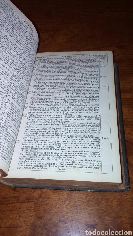 Libros antiguos: HOLY BIBLE *ANTIGUA BIBLIA* BONITA ENCUADERNACION *ANTIGUO Y NUEVO TESTAMENTO* S. XIX ? - Foto 8 - 160670689