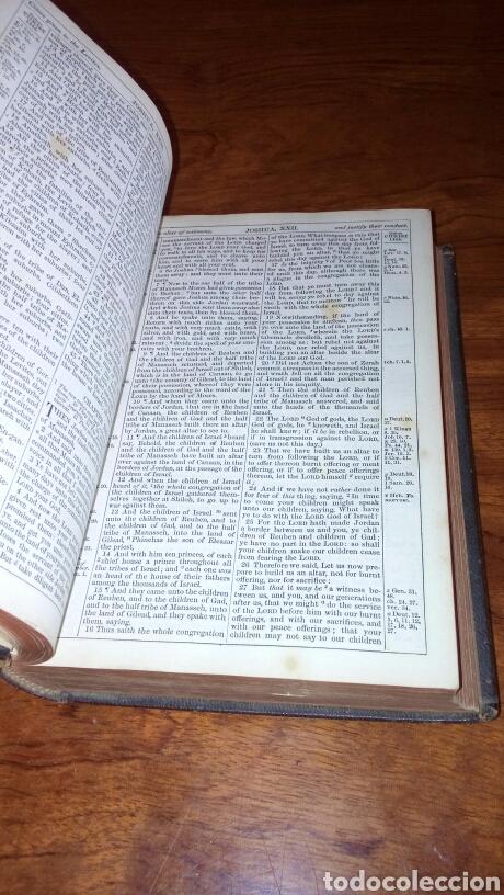 Libros antiguos: HOLY BIBLE *ANTIGUA BIBLIA* BONITA ENCUADERNACION *ANTIGUO Y NUEVO TESTAMENTO* S. XIX ? - Foto 9 - 160670689